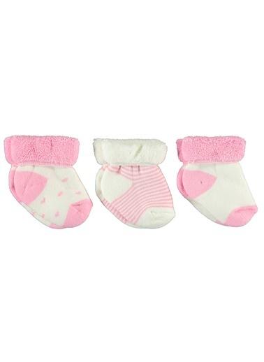 Civil Baby 3'lü Çorap Pembe